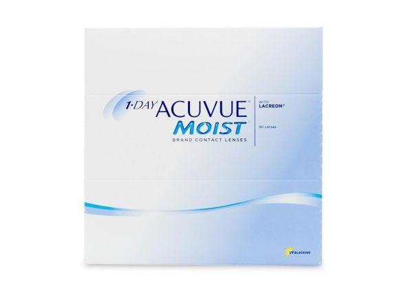 Acuvue one day moist - 90 Lenses