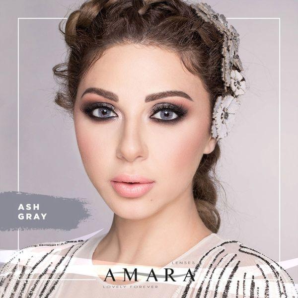 Amara Lenses Ash Gray - 2 Lenses