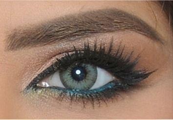 Bella Diamond Gray Green - 2 Lenses