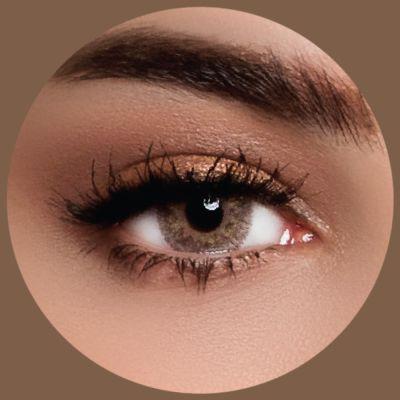 Lareen Gold Golden Brown - 2 Lenses