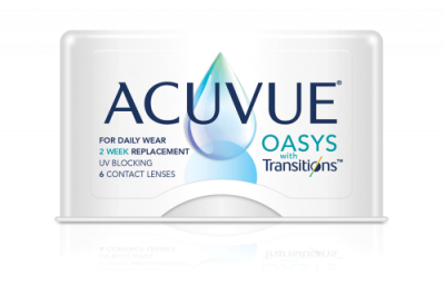 Acuvue Oasys with Transitions - 6 Lenses